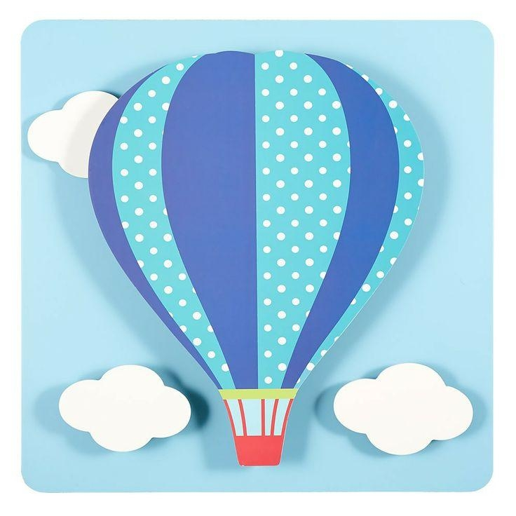 42 Best Baloes Images On Pinterest | Hot Air Balloons, Printable Pertaining To Air Balloon 3D Wall Art (Image 7 of 20)