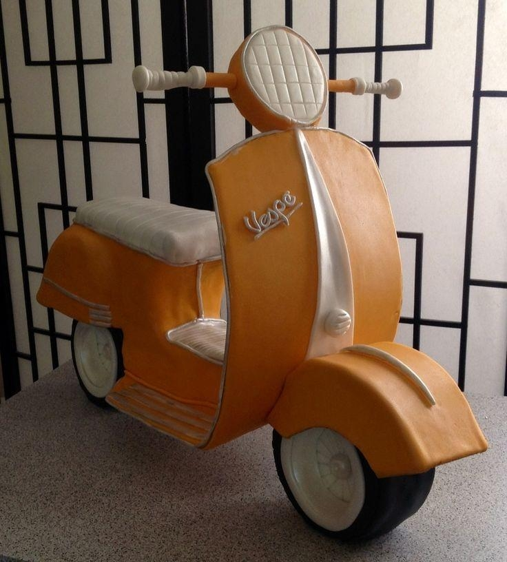 45 Best Vespa In Pdz Images On Pinterest | Vespa Cake, Modeling Pertaining To Vespa 3D Wall Art (Image 6 of 20)