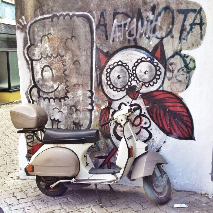 54 Best Street Art . And Scooters Images On Pinterest With Regard To Vespa 3D Wall Art (Photo 17 of 20)