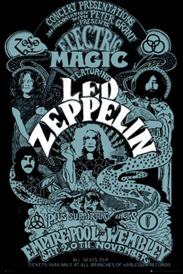 548 Best Let The Led Out Images On Pinterest | Music, Robert Plant Regarding Led Zeppelin 3D Wall Art (View 14 of 20)