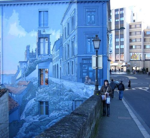 60 Marvellous Wall Paintings And 3 D Street Art – Noupe Inside 3D Artwork On Wall (Image 13 of 20)