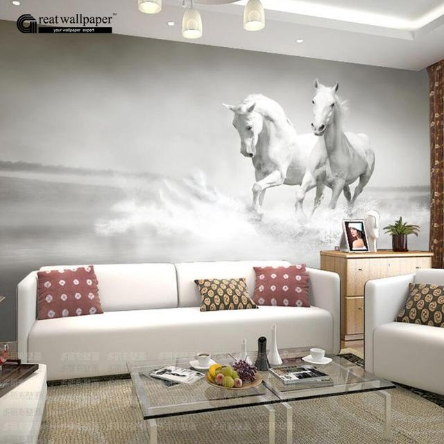 Aliexpress : Buy Custom Any Size 3D Wall Mural Wallpaper Throughout 3D Wall Art Wallpaper (Image 4 of 20)