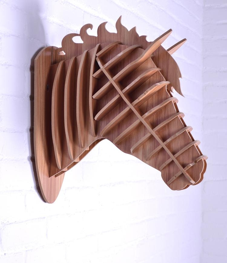 Aliexpress : Buy Wall Animal,wall Horse,3D Wood Horse Head Throughout Animals 3D Wall Art (Image 7 of 20)