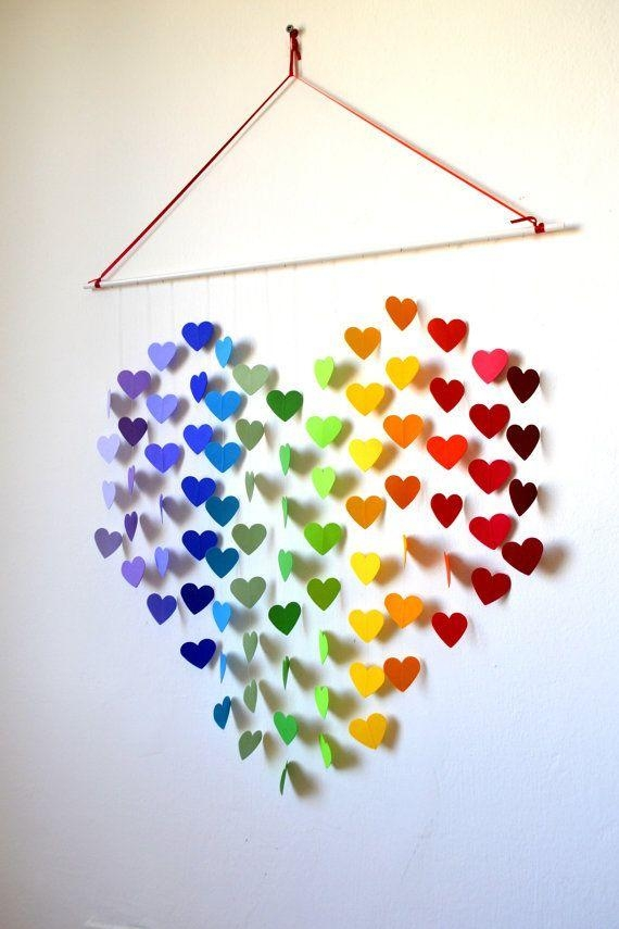 Amazing Diy 3D Wall Art Ideas Intended For Diy 3D Paper Wall Art (Image 8 of 20)