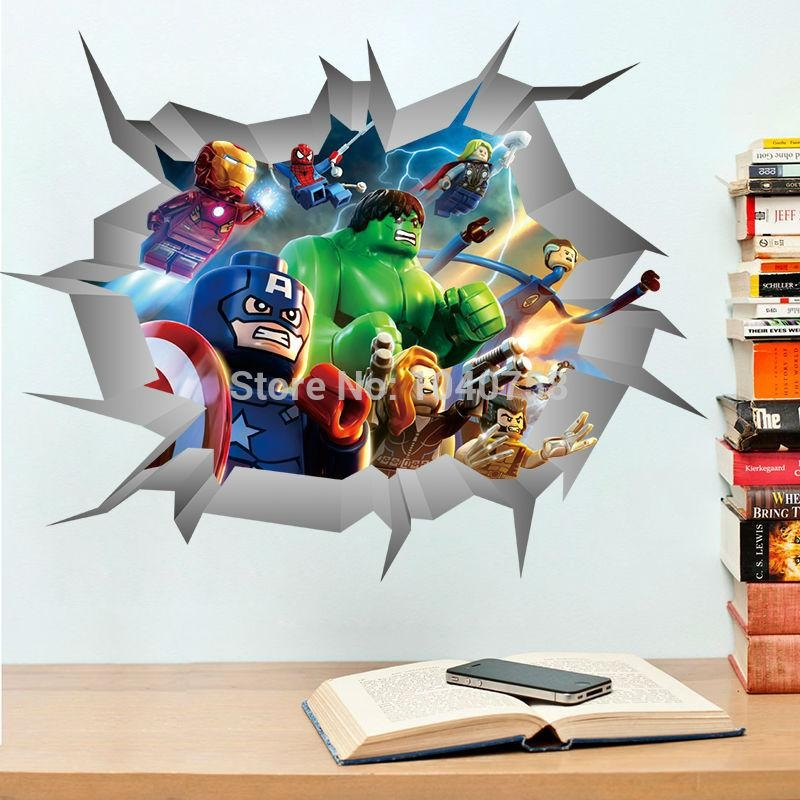 Art For Kids Picture – More Detailed Picture About Avengers 3D Intended For Avengers 3D Wall Art (Image 3 of 20)