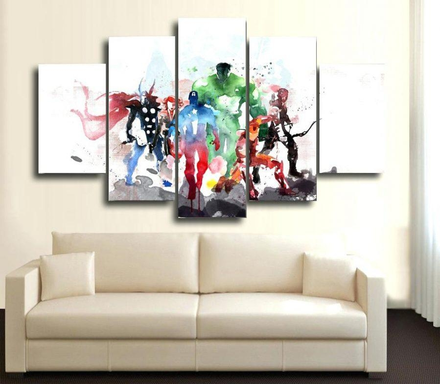 Articles With Avengers Wall Art Mural Tag: Avengers Wall Art (Image 4 of 20)