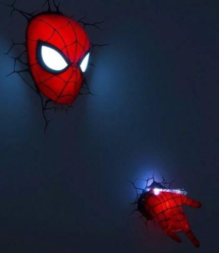 Avengers 3D Wall Art Night Light – Wall Murals Ideas For Iron Man 3D Wall Art (Image 8 of 20)