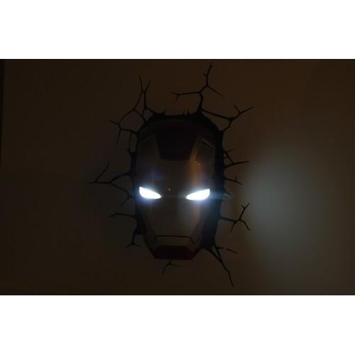Avengers 3D Wall Art Night Light – Wall Murals Ideas Regarding Iron Man 3D Wall Art (Image 9 of 20)