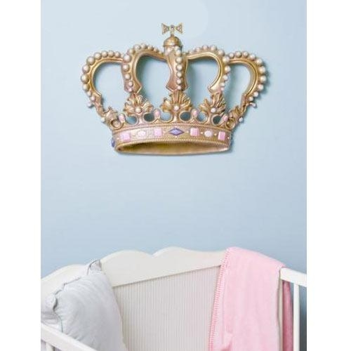 Featured Image of 3D Princess Crown Wall Art Decor