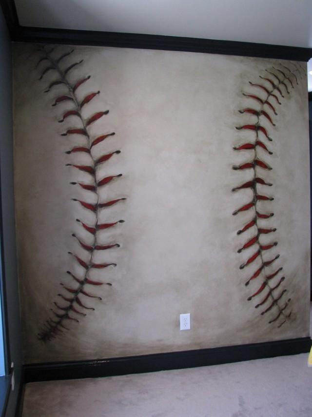 Baseball Wall Art Awesome Wall Art Decor For 3D Wall Art U2013 Home Regarding  Baseball 3D