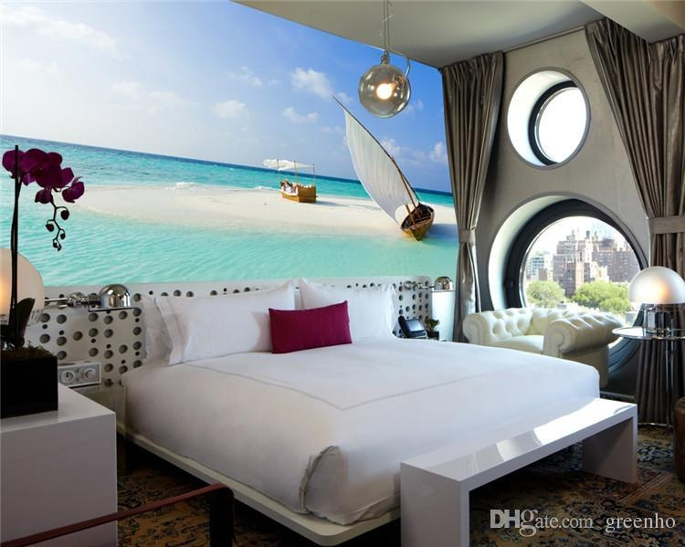 Beach Wall Art For Bedroom – Wall Murals Ideas With Regard To 3D Wall Art For Bedrooms (Image 9 of 20)