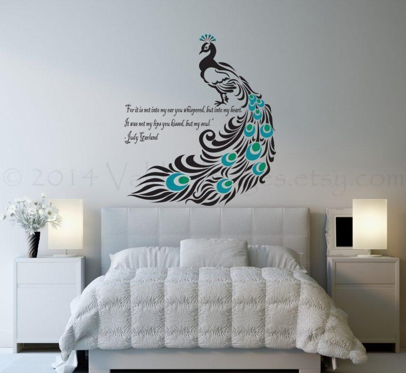 Bedroom : Superb 3D Wall Art Stickers Wall Stickers For Bedrooms In Unusual 3D Wall Art (Image 7 of 20)