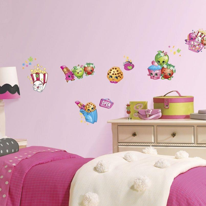 Bedroom : Unusual Girls Bedroom Wall Stickers Kitchen Wall Decals Regarding Unusual 3D Wall Art (Image 9 of 20)