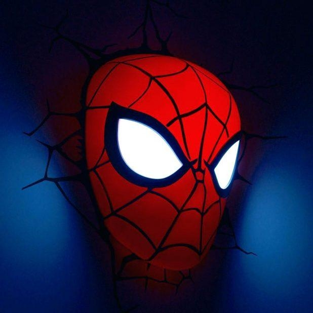Benefits Of Iron Man Wall Light 3D Art Nightlight Thor Hammer With Regard To 3D Wall Art Night Light Spiderman Hand (Image 8 of 20)