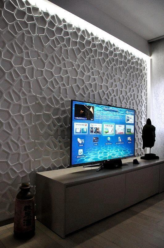 Best 25+ 3D Wall Panels Ideas On Pinterest | 3D Textured Wall Pertaining To Painting 3D Wall Panels (Image 7 of 20)