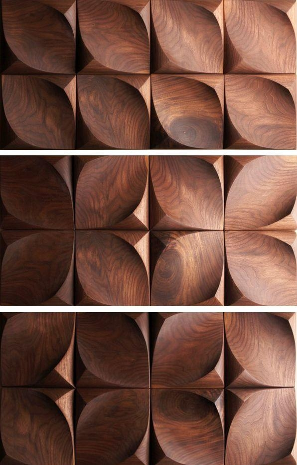 Best 25+ 3D Wall Tiles Ideas On Pinterest | 3D Pattern, 3D Tiles In Wood 3D Wall Art (Image 3 of 20)