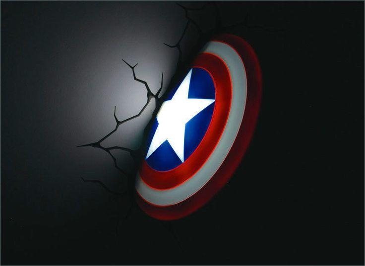 Best 25+ Avengers Wall Lights Ideas On Pinterest | Avengers Boys With 3D Wall Art Iron Man Night Light (Image 13 of 20)