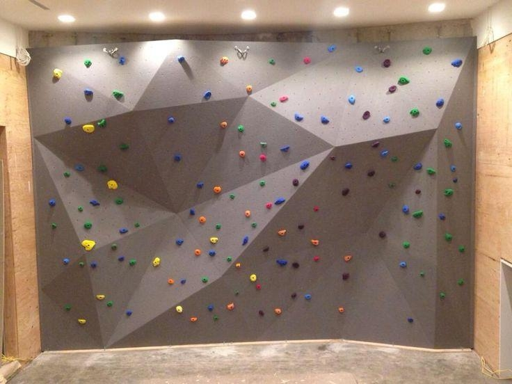 Best 25+ Home Climbing Wall Ideas On Pinterest | Climbing Wall With Home Bouldering Wall Design (Image 5 of 20)