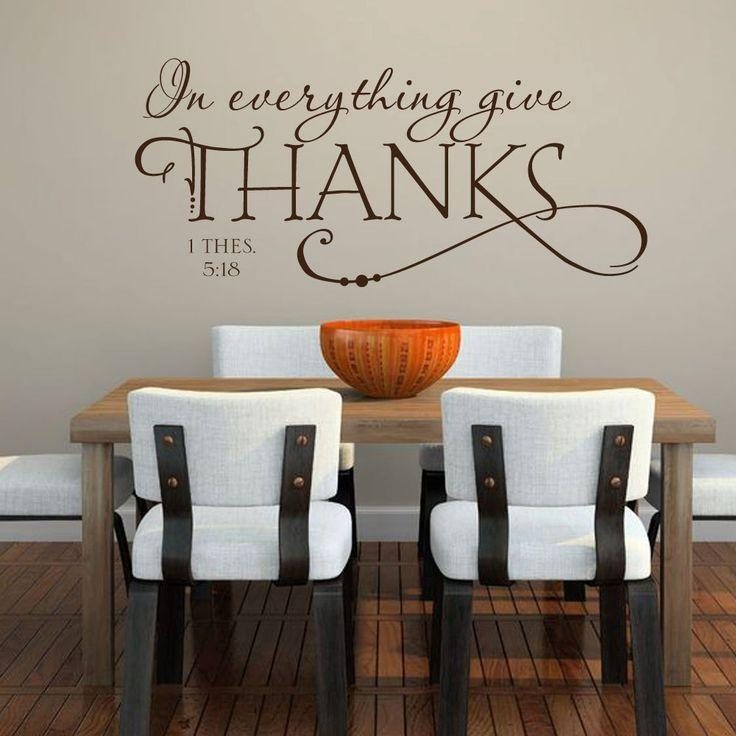 Best 25+ Kitchen Wall Stickers Ideas On Pinterest | Dining Room With 3D Wall Art For Kitchen (Image 7 of 20)
