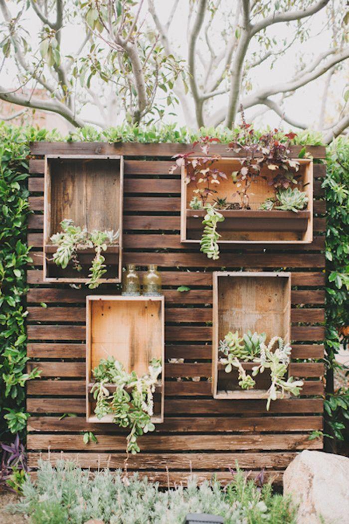 Best 25+ Succulent Wall Ideas On Pinterest | Succulent Wall With Regard To 3D Garden Wall Art (View 3 of 20)