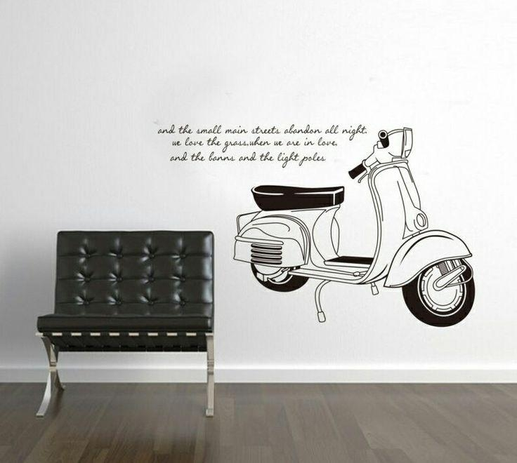 Best 25+ Vespa Malaysia Ideas On Pinterest | Rent A Plane, Futons Regarding Vespa 3D Wall Art (Image 11 of 20)