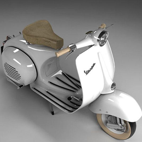 Best 25+ Vespa Motorcycle Ideas On Pinterest | Moped Motorcycle Pertaining To Vespa 3D Wall Art (Image 12 of 20)