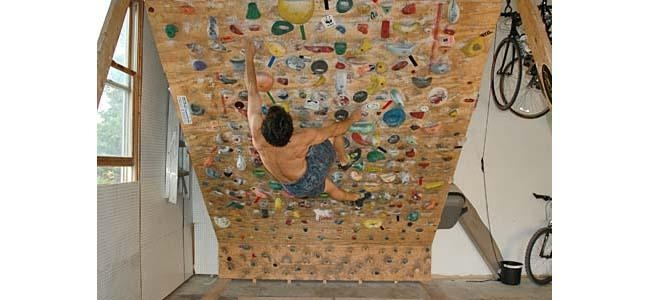 Building A Home Wall « Nicros For Home Bouldering Wall Design (Image 6 of 20)