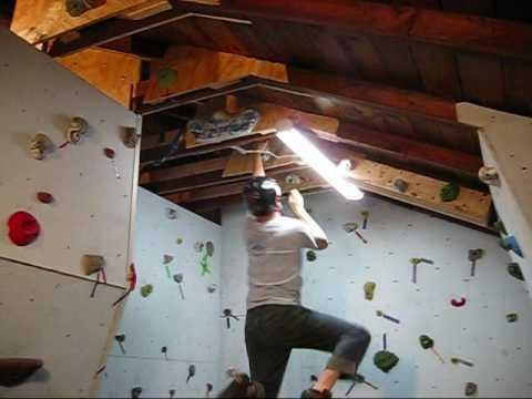 Building A Rock Climbing Wall In The Garage – Part 2 – Wall Throughout Home Bouldering Wall Design (Image 8 of 20)