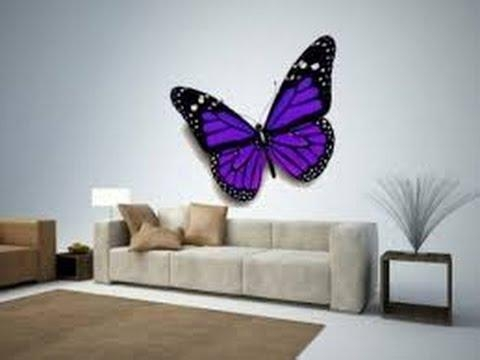 Butterfly Wall Decor | 3D Butterfly Wall Decor | Butterfly Wall Intended For 3D Butterfly Wall Art (View 19 of 20)