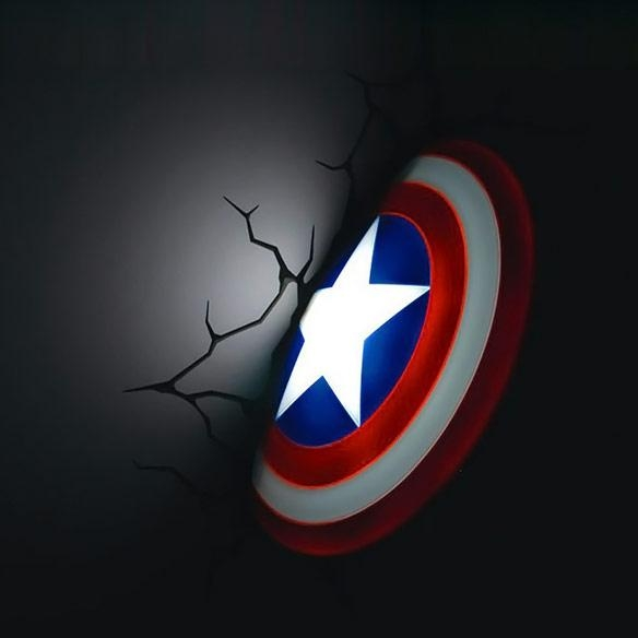 Featured Image of Captain America 3D Wall Art