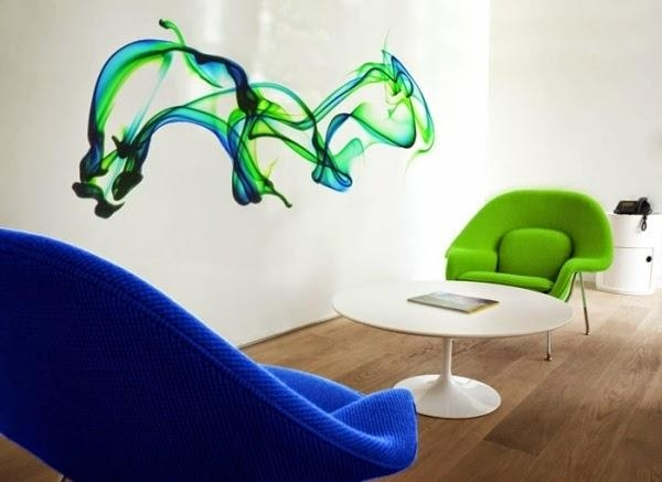 Catchy Photo Realistic 3D Wall Stickers: An Awesome Series   Dolf In Decorative 3D Wall Art Stickers (View 7 of 20)