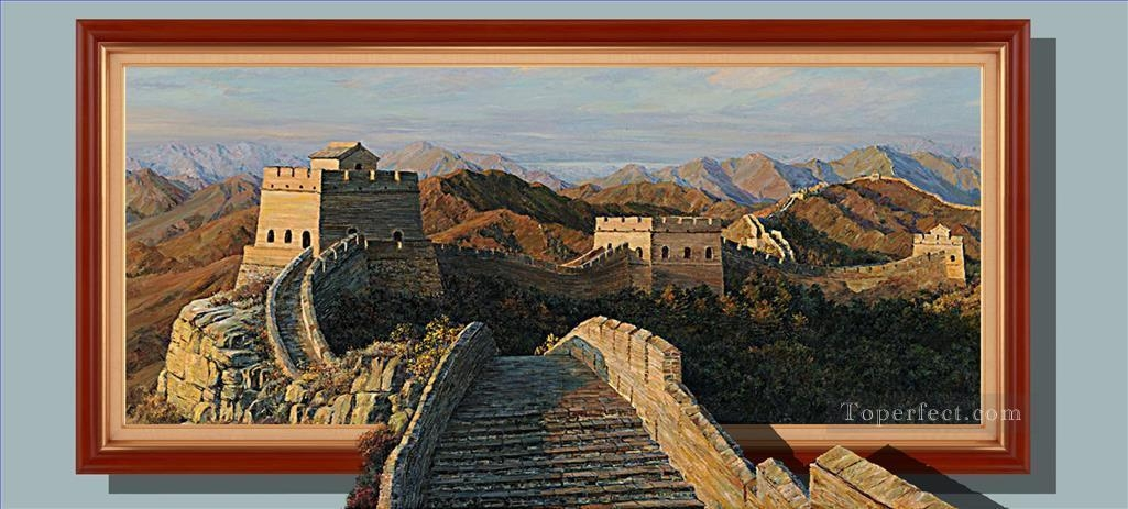 Chinese Great Wall 3D Painting In Oil For Sale With Great Wall Of China 3D Wall & 20 Ideas of Great Wall of China 3D Wall Art | Wall Art Ideas