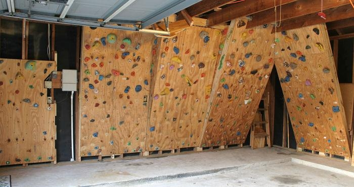 Clever Home Climbing Wall Designs Home Built Home Made In Our Within Home Bouldering Wall Design (Image 9 of 20)