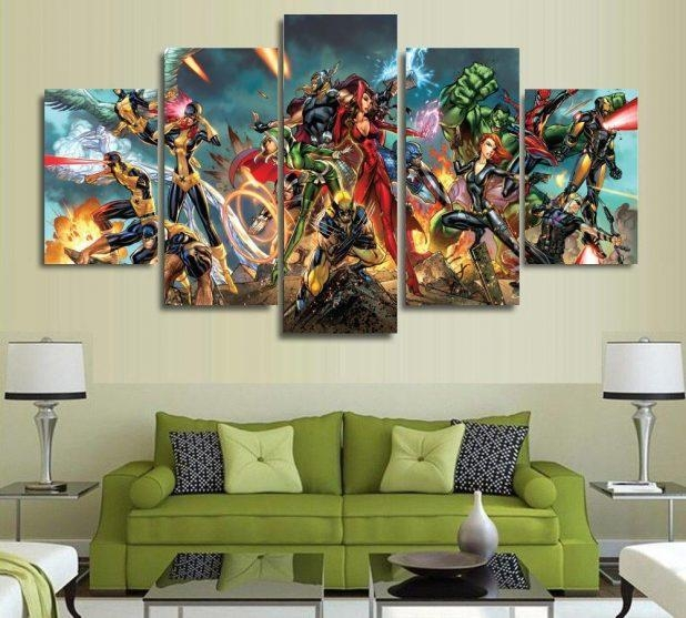 Wall Art: Marvel 3D Wall Art (#20 of 20 Photos)