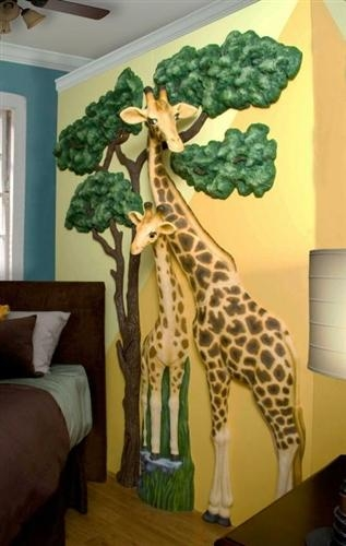 Contemporary Ideas Safari Wall Art Unusual Design Amazoncom First Throughout Unusual 3D Wall Art (Image 10 of 20)