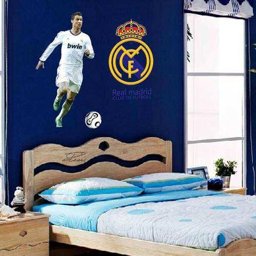 Cristiano Ronaldo Football Player Wall Art Sticker | Wall Decals In Football 3D Wall Art (Image 7 of 20)
