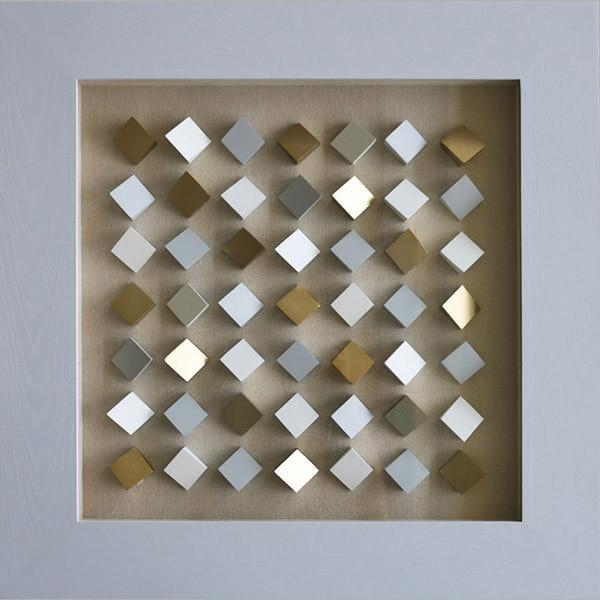 Cube 3D Shadow Box Wall Art For Home Decoration Product Photos Regarding Cubes 3D Wall Art (Image 9 of 20)