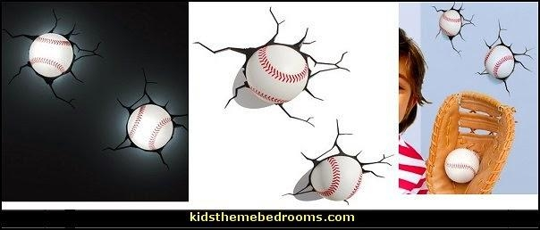 Decorating Theme Bedrooms – Maries Manor: Baseball Bedroom Within Baseball 3D Wall Art (Image 10 of 20)