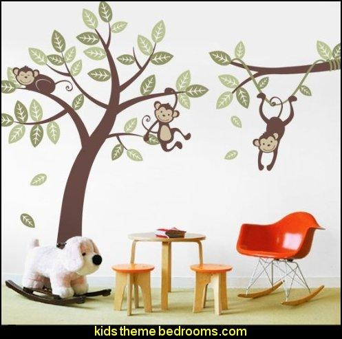 Decorating Theme Bedrooms – Maries Manor: Jungle Baby Bedrooms In 3D Wall Art For Baby Nursery (Image 8 of 20)
