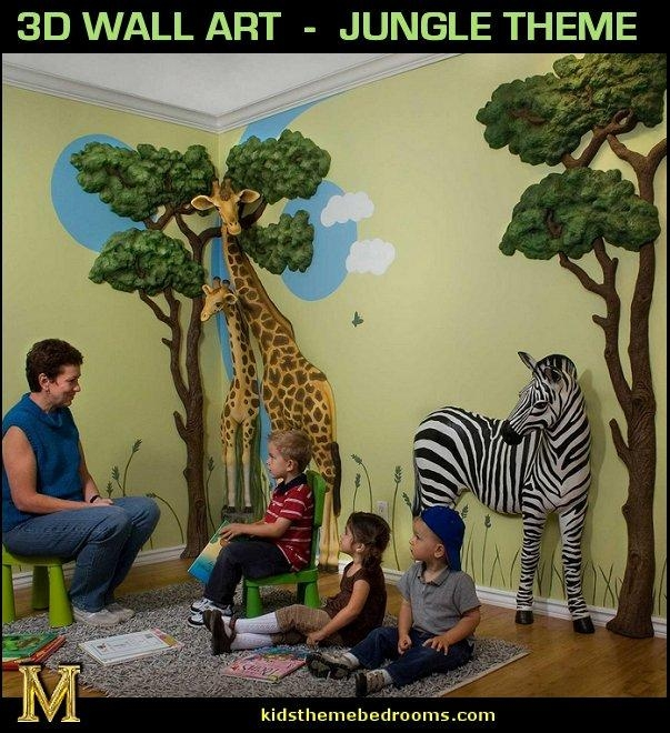 Decorating Theme Bedrooms – Maries Manor: Wild Animal Print Pertaining To Animals 3D Wall Art (Image 14 of 20)