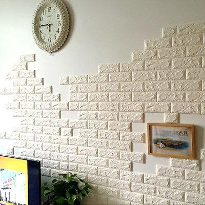 Decoration Art Picture – More Detailed Picture About White 3D Regarding 3D Brick Wall Art (Image 12 of 20)