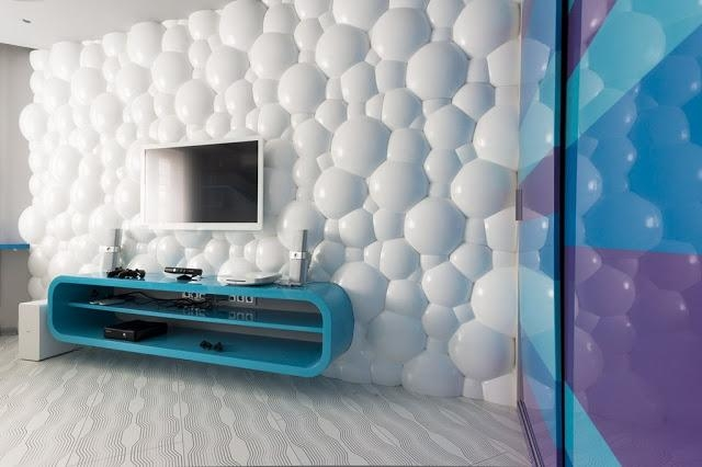 Decorative 3D Wall Panels For Unusual Wall Decor 2017 With Regard To 3D Plastic Wall Panels (Image 5 of 20)