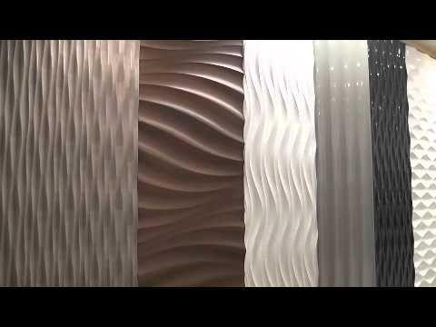 Decorative 3D Wall Panels From 3D Wall Panels – Youtube Inside Wetherill Park 3D Wall Art (Image 13 of 20)