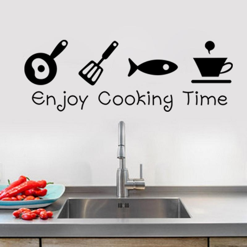 Design Creative Diy Wall Stickers Kitchen Decal Home Decor In 3D Wall Art For Kitchen (Image 9 of 20)