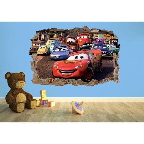 Disney Stickers – Kids Wall Art Inside Cars 3D Wall Art (Image 11 of 20)