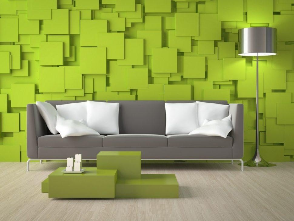 ☆▻ Decor : 35 Living Room Wall Design Ideas Purple Designs Ed For Bedroom 3D Wall Art (Image 1 of 20)