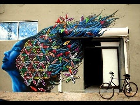 Fantastic 3D Wall Painting Art Incredible 3D Illusions Compilation Regarding 3D Wall Art Illusions (View 2 of 20)