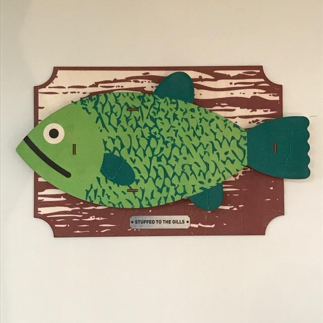 Fish 3D Wall Art | Tracy's Attic Intended For Fish 3D Wall Art (Image 12 of 20)
