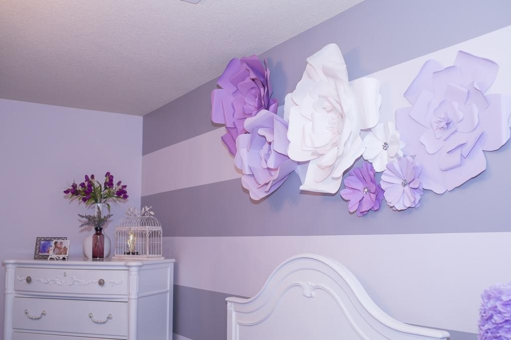 Flower Wall Art Decor Marvelous 3D Flower Wall Decor 5 Fabric Wall Pertaining To Flowers 3D Wall Art (View 20 of 20)