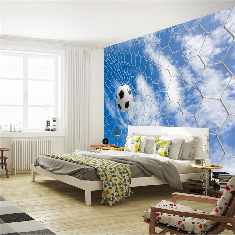 Football Wall Murals For Kids – Wall Murals Ideas Within Football 3D Wall Art (Image 13 of 20)